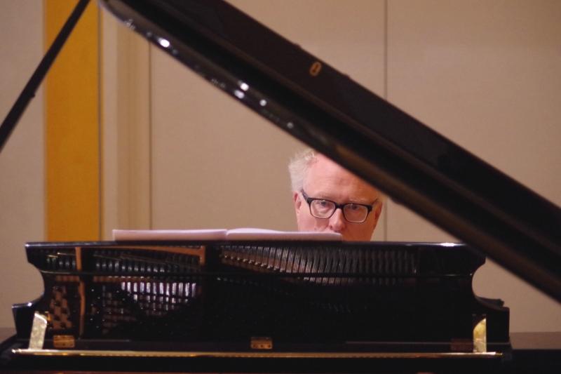 Proben 19.09.2016 - Bengt Forsberg (Klavier) (Foto: Christine Tröger)
