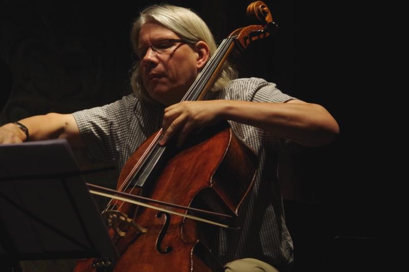 20.09.2016 - Proben: Peter Bruns (Violoncello)