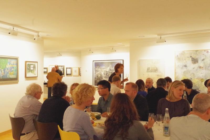 20.09.2016 - Abendessen bei Baurs (Foto: Christine Tröger)