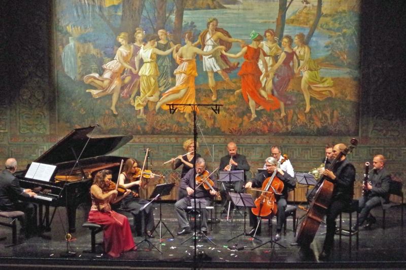21.09.2016 - Konzert: Große Besetzung bei »Three Tone-Pictures« op. 5 von Charles Tomlinson Griffes. (Foto: Christine Tröger)