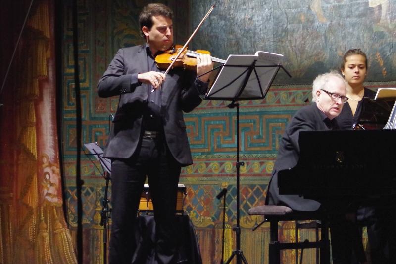 21.09.2016 - Konzert: Amaury Coeytaux (Violine) und Bengt Forsberg (Klavier) bei George Antheils Sonate Nr. 2 ... (Foto: Christine Tröger)