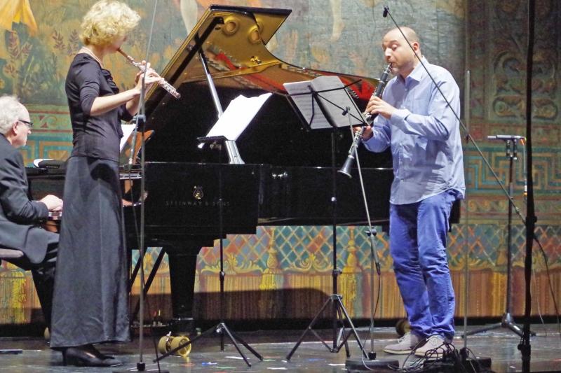 21.09.2016 - Konzert: ... mit »Twin Trio« aus dem Jahr 2005 ... (Foto: Christine Tröger)