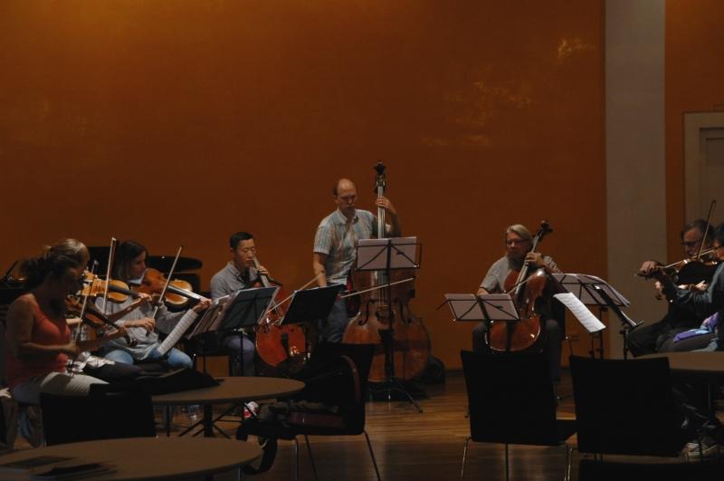 22.09.2016 - Proben: ... eine Hommage an Astor Piazzolla ... (Foto: Christine Tröger)