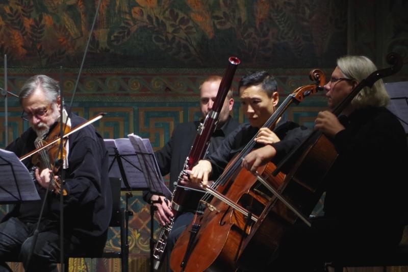 22.09.2016 - Konzert: ... »Appalachian Spring« von Aaron Copland. (Foto: Christine Tröger)