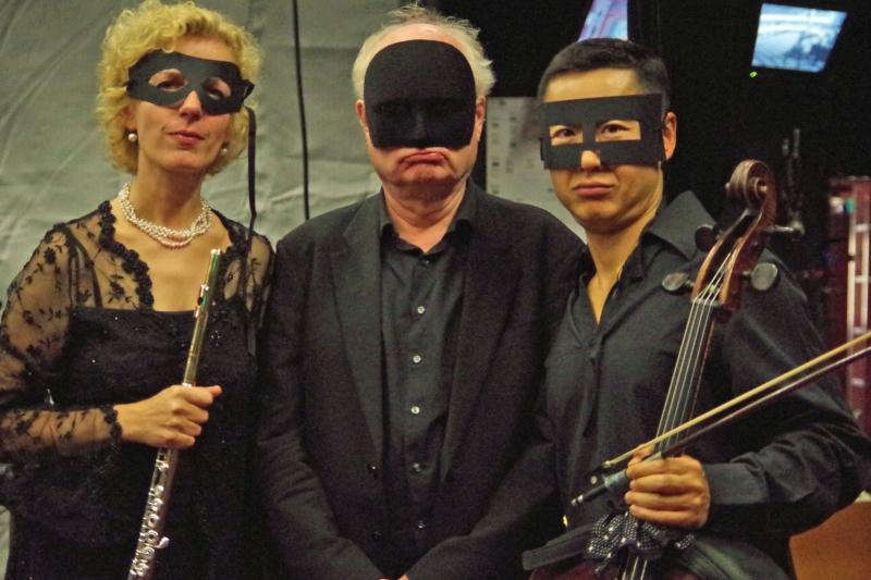"""23.09.2016 - Konzert: ... aber dann doch noch mal """"mit"""" fürs Familienalbum.  (Foto: Christine Tröger)"""
