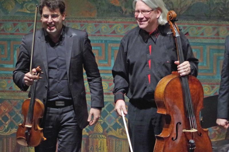 25.09.2016 - Konzert: ... glückliche Musiker ... (Foto: Christine Tröger)