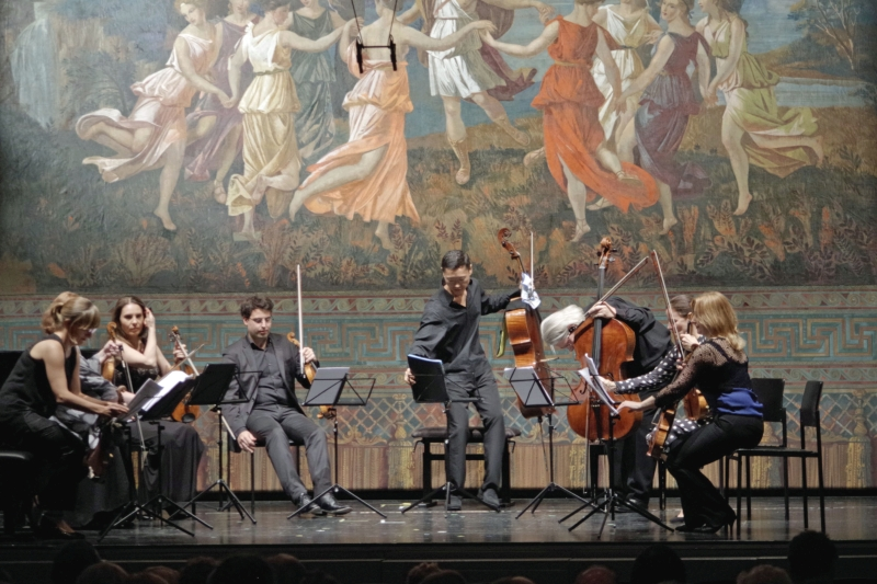 25.09.2016 - Konzert: Und noch ein hierzulande völlig unbekannter Komponist. »The Rose of the Winds«  von Stephen Hartke ... (Foto: Christine Tröger)
