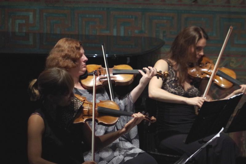 25.09.2016 - Konzert: Eriikka Maalismaa, Natalia Prishepenko und Nina Karmon (Foto: Christine Tröger)