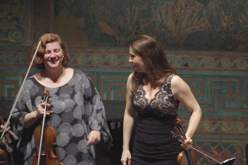 25.09.2016 - Konzert: Natalia Prishepenko und Nina Karmon (Foto: Christine Tröger)