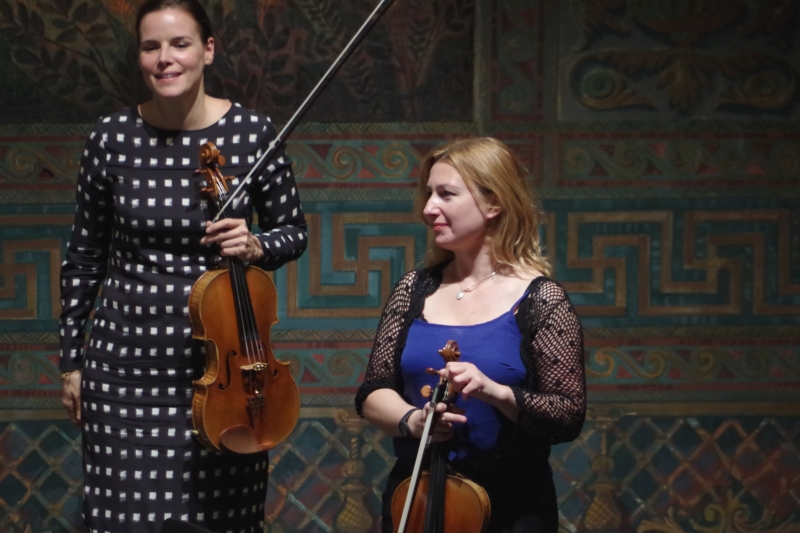25.09.2016 - Konzert: Béatrice Muthelet und Rachel Roberts (Foto: Christine Tröger)