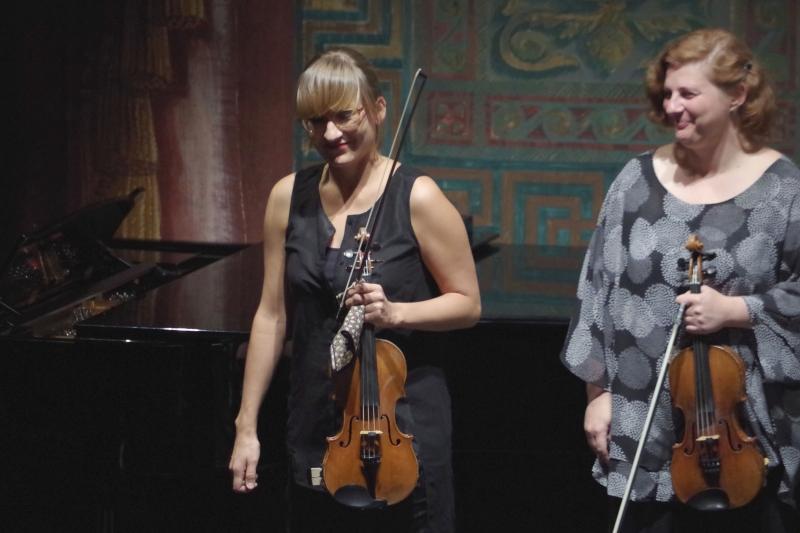 25.09.2016 - Konzert: Eriikka Maalismaa und Natalia Prishepenko (Foto: Christine Tröger)