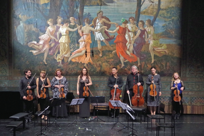 25.09.2016 - Konzert: Lang anhaltender Applaus vor der Pause. (Foto: Christine Tröger)