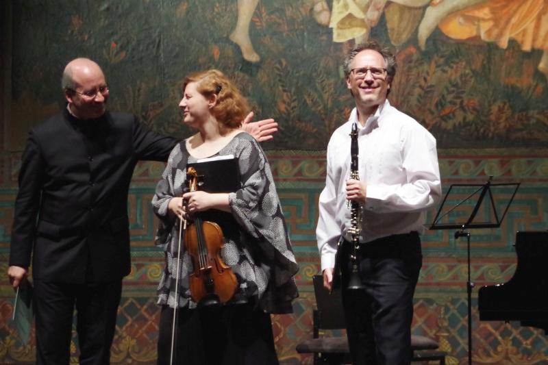 25.09.2016 - Konzert: Auch dafür viel Dank vom Publikum. (Foto: Christine Tröger)