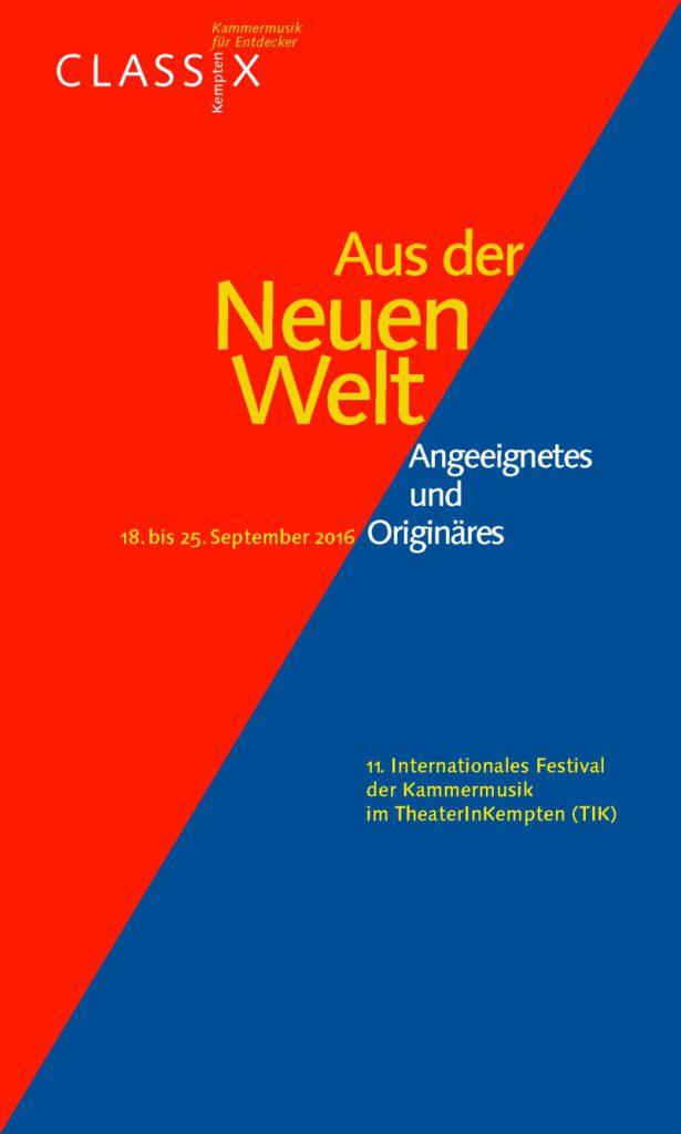 CLASSIX Kempten 2016 - Cover