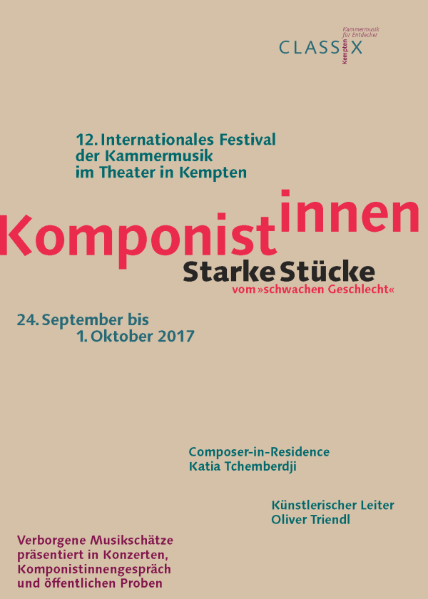 Flyer CLASSIX Kempten 2017