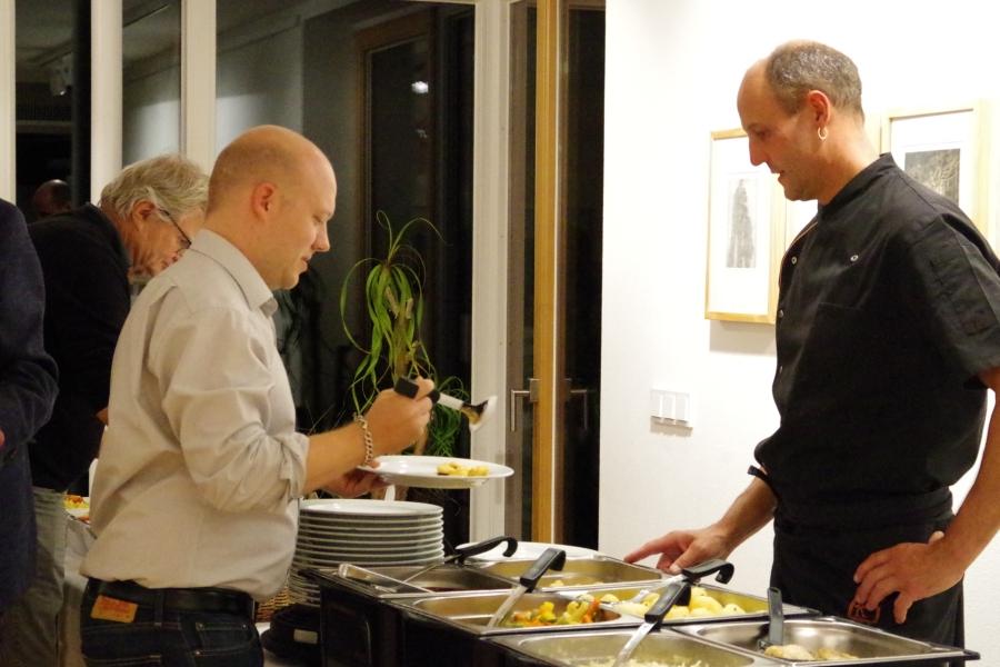 26.09.2017 - Abendessen bei Baurs (Foto: Christine Tröger)