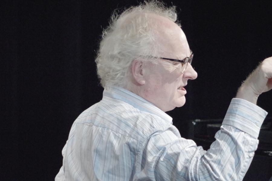 Samstag/Sonntag 23./24.09.2017 - Proben: Bengt Forsberg (Klavier) gibt den Einsatz (Foto: Christine Tröger)