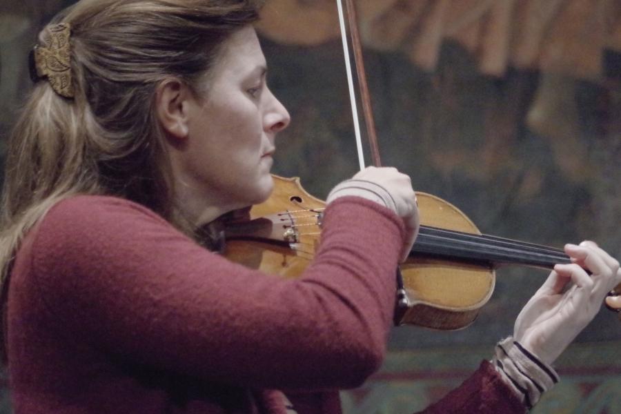 Samstag/Sonntag 23./24.09.2017 - Proben: Elisabeth Kufferath (Violine) (Foto: Christine Tröger)