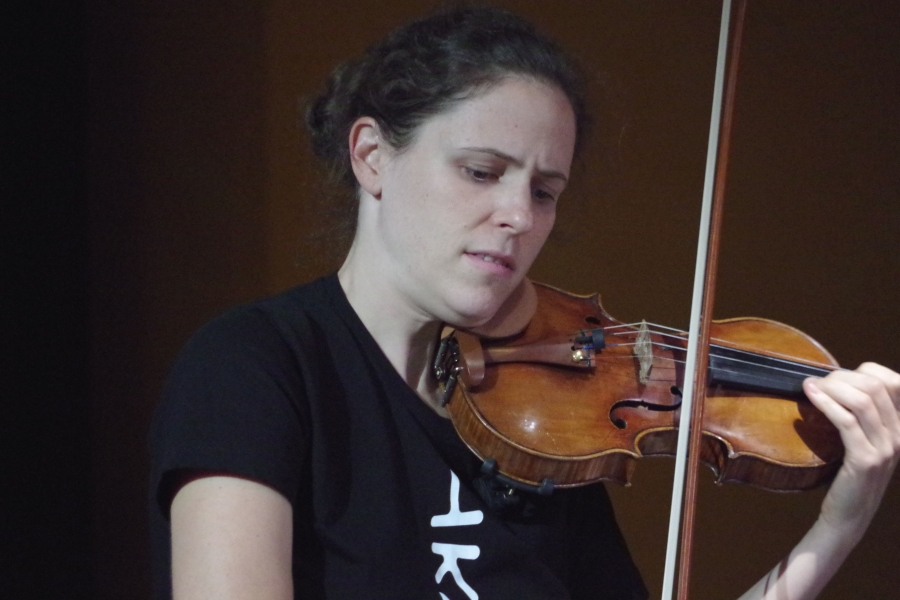 Samstag/Sonntag 23./24.09.2017 - Proben: Nurit Stark (Violine) ... (Foto: Christine Tröger)