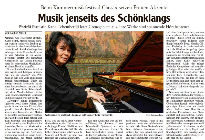 Allgäuer Zeitung 02.10.2017