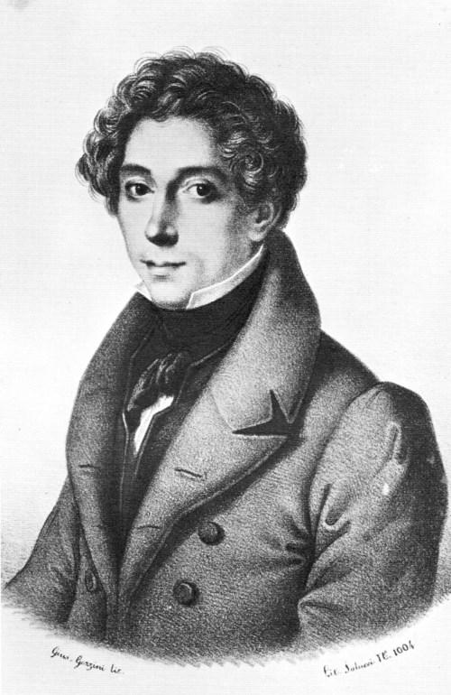 Giovanni Pacini, Litho von Gaccini (Foto Wikipedia, gemeinfrei)