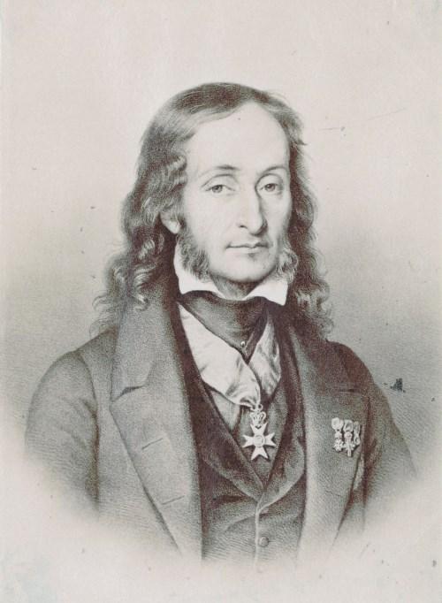 Niccolo Paganini, Bild Nach Paul-Pommayrac (Foto Wikipedia, Gemeinfrei)