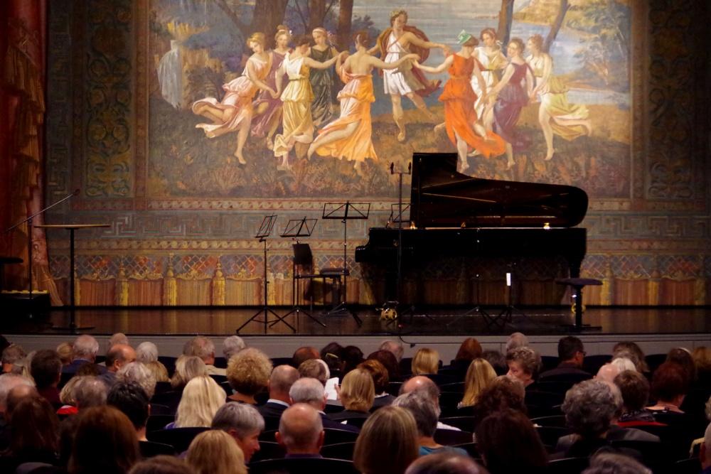 23.9.2018 - Konzert: Gleich geht es los... (Foto: Christine Tröger)