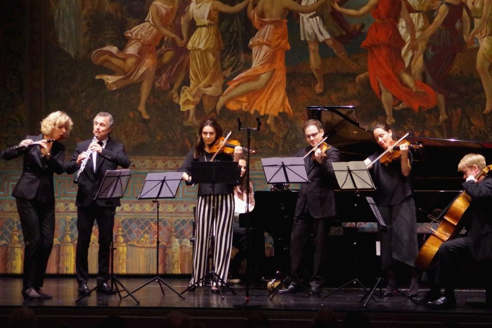 23.9.2018 - Konzert: ... beginnen mit einer »Polka« von Saverio Mercadante (1795-1870) (Foto: Christine Tröger)