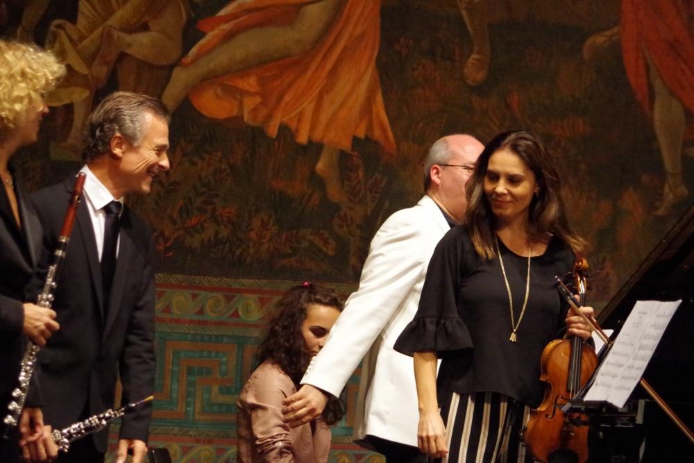 23.9.2018 - Konzert: ... ein gelungener Start ... (Foto: Christine Tröger)