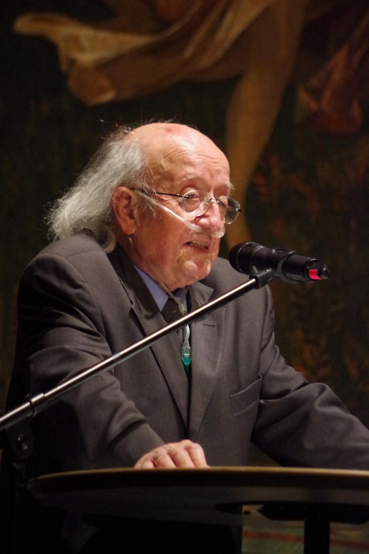 23.9.2018 - Konzert: Organisator Dr. Franz Tröger eröffnet das Festival. (Foto: Christine Tröger)