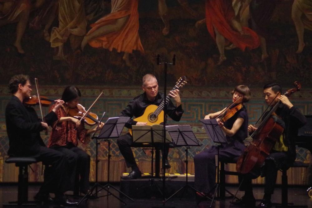 23.9.2018 - Konzert: ... mit flotten Rythmen ... (Foto: Christine Tröger)