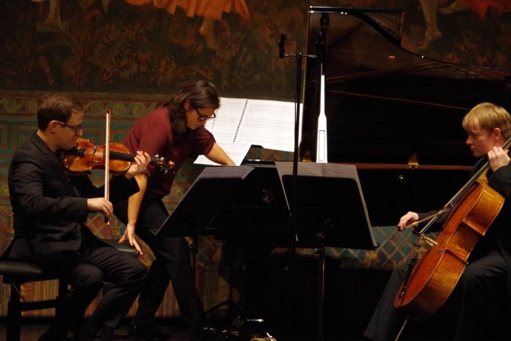 23.9.2018 - Konzert: ... mit dabei  Jack Liebeck (Violine) und Mischa Meyer (Violoncello). (Foto: Christine Tröger)