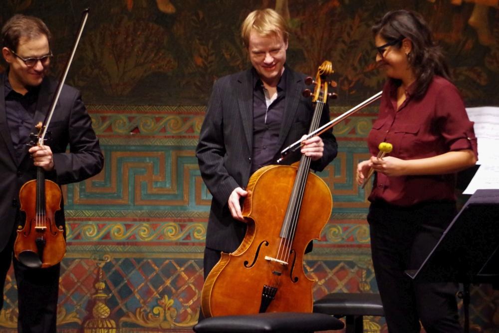 23.9.2018 - Konzert: ... das Werk und die Interpreten. (Foto: Christine Tröger)