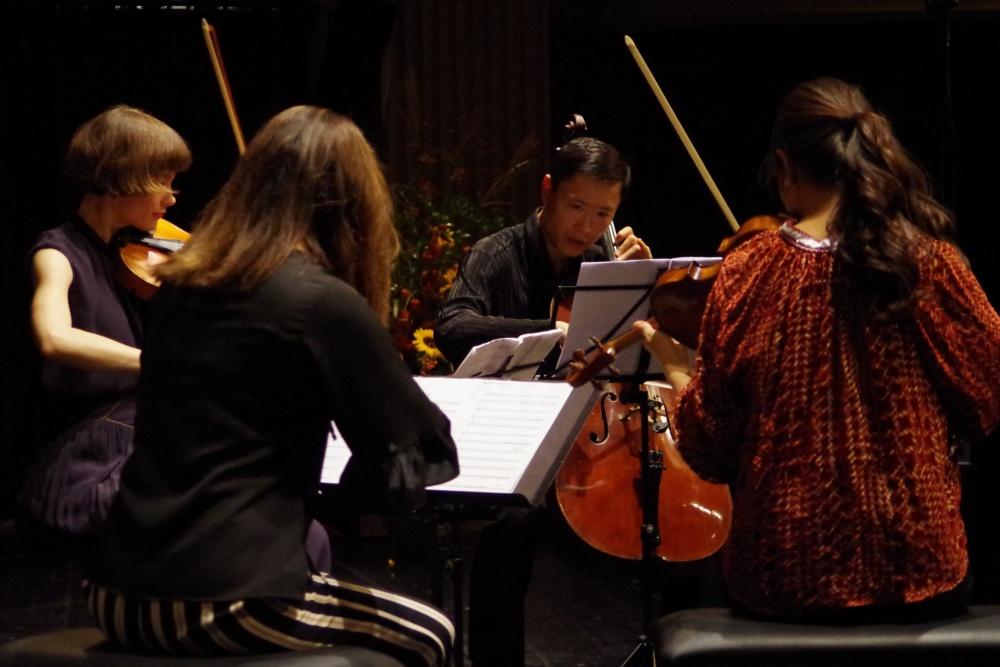 23.9.2018 - Konzert: ... Klavierquintett f-Moll von Ottorino Respighi (1879-1936). (Foto: Christine Tröger)