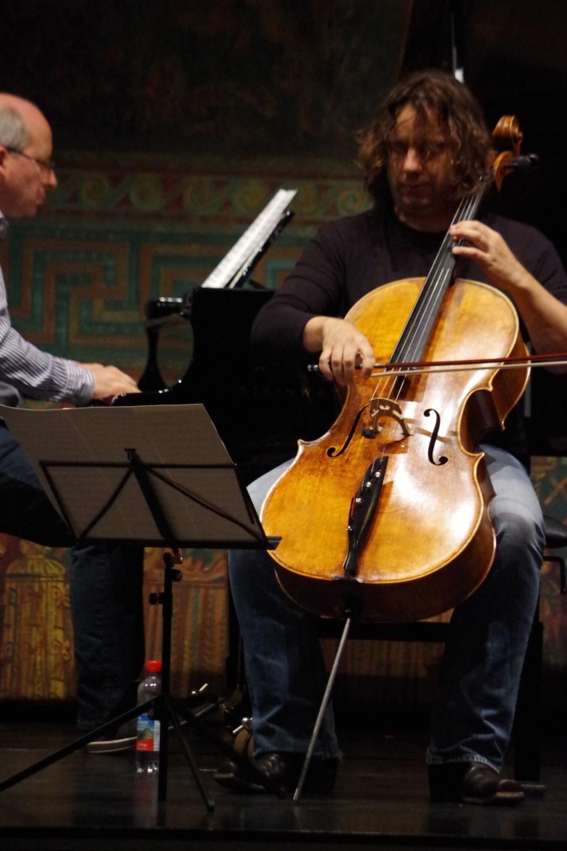 25.9.2018 – Proben: Oliver Triendl proben eine der Hommagen: Rossini-Variationen von Bohuslav Martinu. (Foto: Christine Tröger)