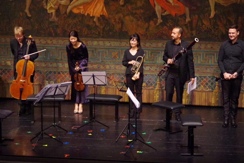 26.9.2018 – Konzert: ...  außergewöhnlich: Misaki Fukushima (Trompete). (Foto: Christine Tröger)