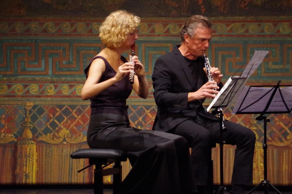 26.9.2018 – Konzert: ... bei Virginia Guastella »Parties diverses« (2014) für Bläserquintett ... (Foto: Christine Tröger)