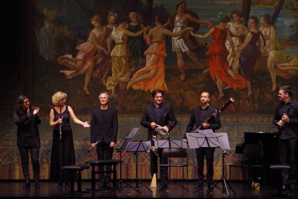 26.9.2018 – Konzert: ... und vom Publikum gibt es viel Applaus. (Foto: Christine Tröger)