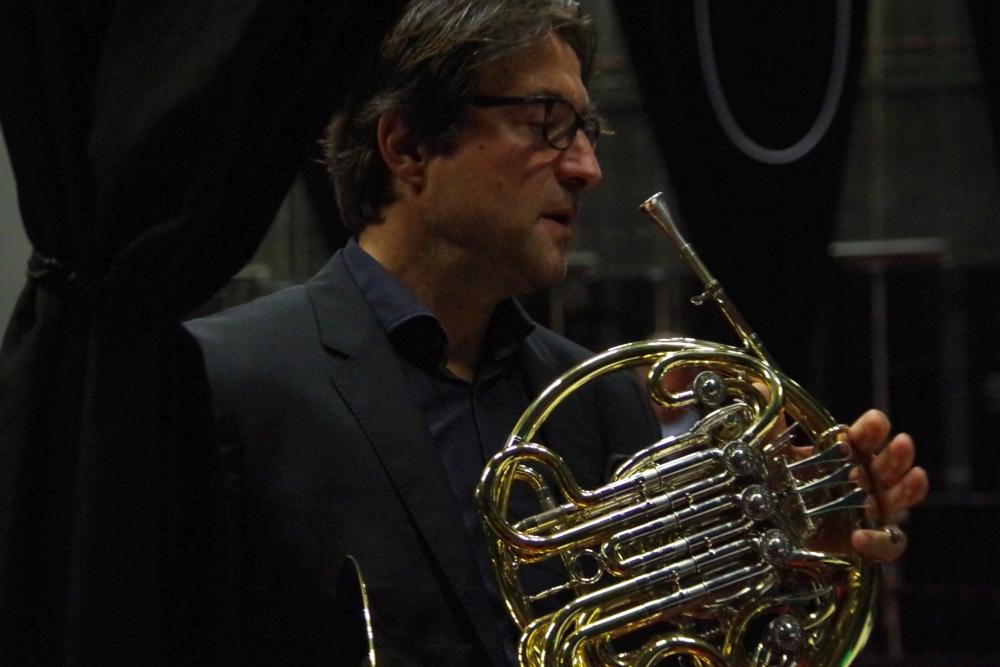 26.9.2018 – Konzert: ... bevor zum Abschluss des Abends ... (Foto: Christine Tröger)