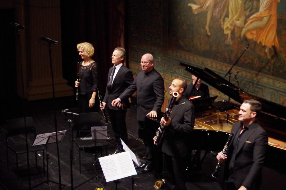 27.9.2018 – Konzert: ... großer Applaus gleich für das erste Stück des Abends ... (Foto: Christine Tröger)