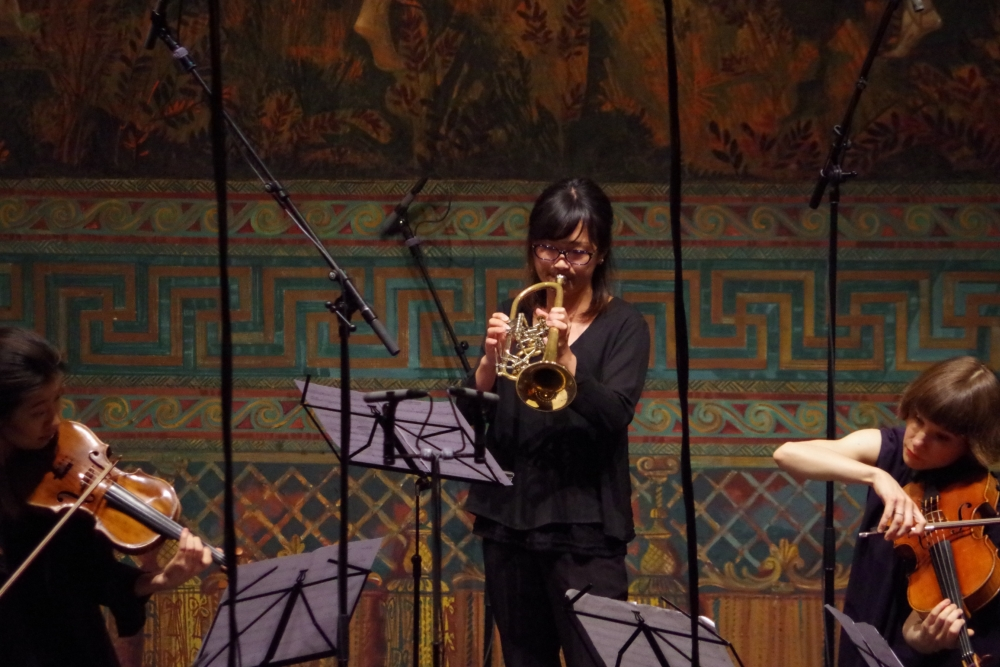 27.9.2018 – Konzert: ... im Mittelpunkt Misaki Fukushima (Trompete) ... (Foto: Christine Tröger)