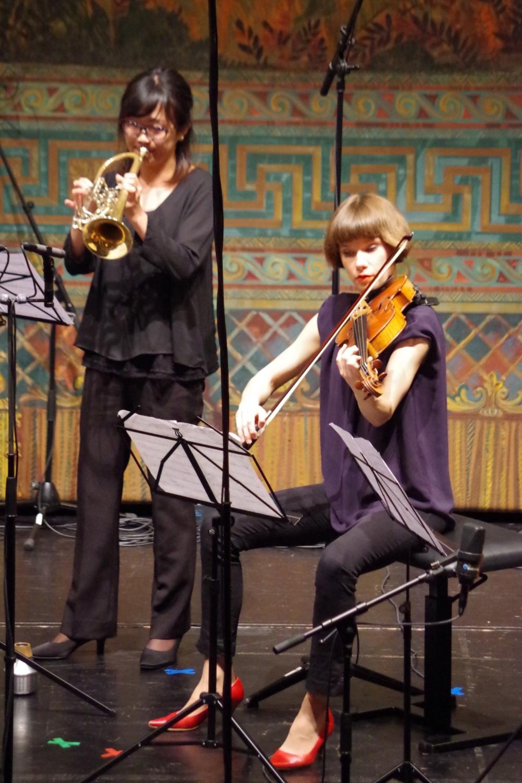 27.9.2018 – Konzert: ... mit  Lilli Maijala (Viola) ... (Foto: Christine Tröger)