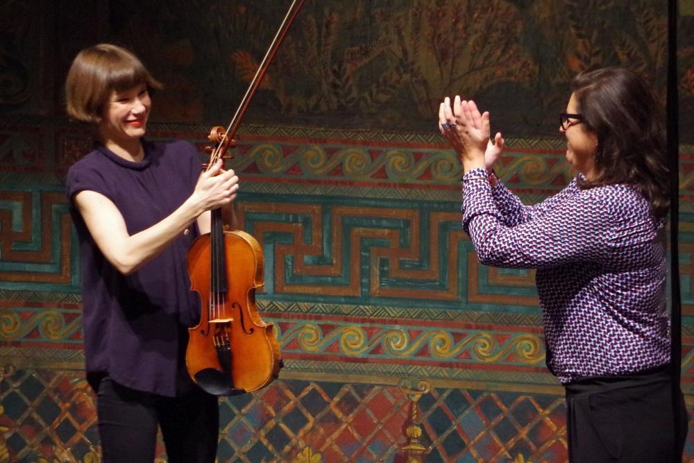 27.9.2018 – Konzert: ... mit Lob für die Interpreten ... (Foto: Christine Tröger)
