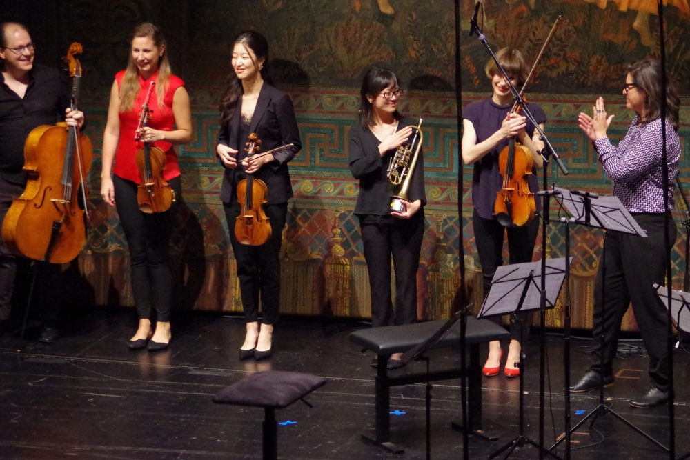 27.9.2018 – Konzert: ... und großer Applaus vom Publikum ... (Foto: Christine Tröger)