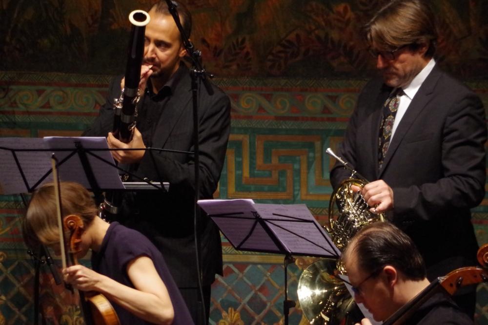 27.9.2018 – Konzert: ... eine gute Vorbereitung ... (Foto: Christine Tröger)