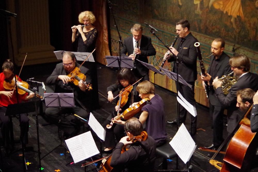 27.9.2018 – Konzert: ... und dann wird auch dieses ... (Foto: Christine Tröger)