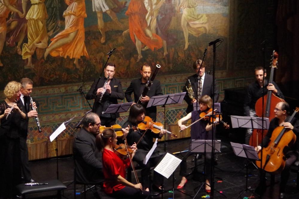 27.9.2018 – Konzert: ... komplexe Werk ... (Foto: Christine Tröger)