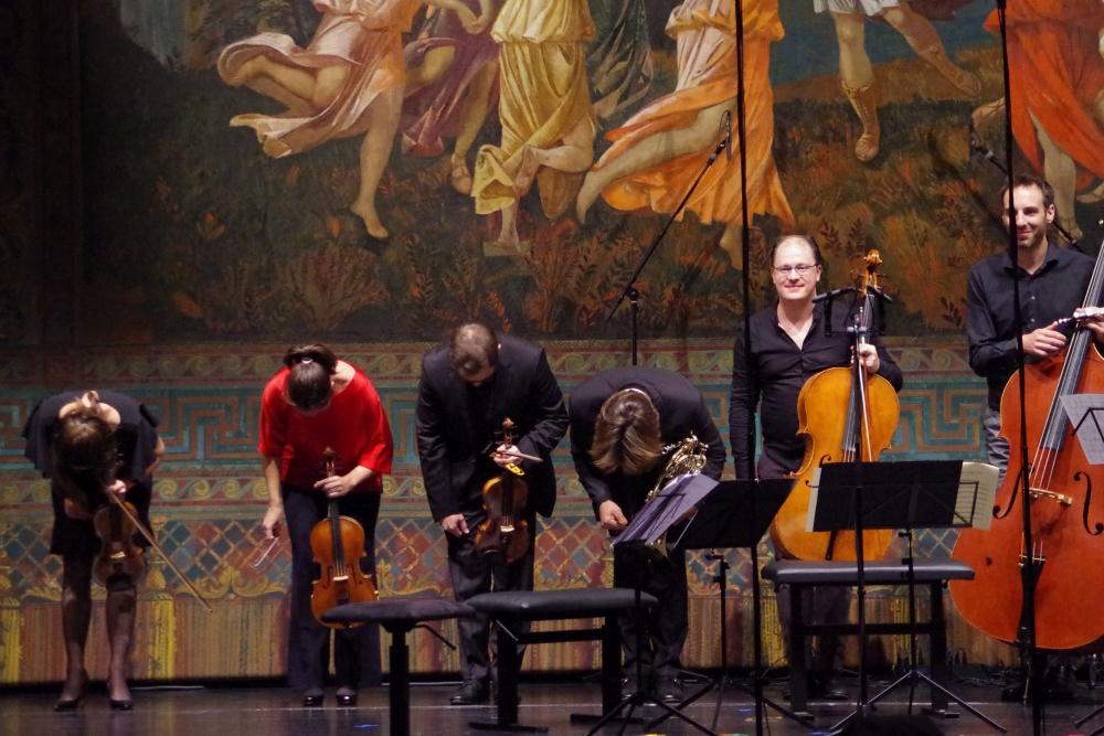 27.9.2018 – Konzert: ... zu einem musikalischen Hochgenuss. (Foto: Christine Tröger)