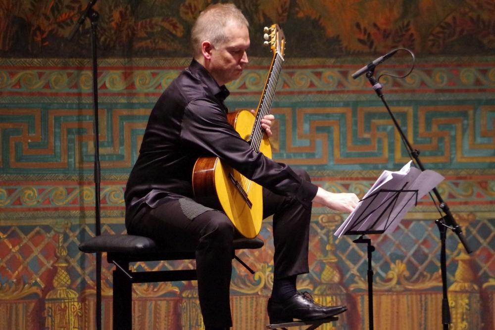 27.9.2018 – Konzert: Ismo Eskelinen (Gitarre) ... (Foto: Christine Tröger)