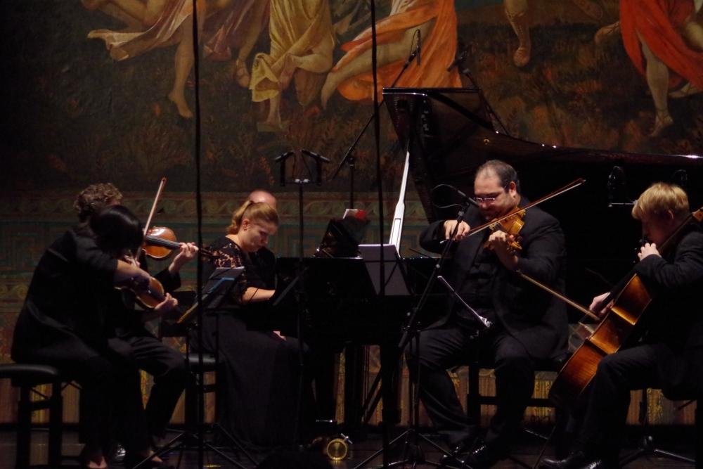 27.9.2018 – Konzert: ... Achille Longos (1900-1954) Klavierquintett (1934) ... (Foto: Christine Tröger)